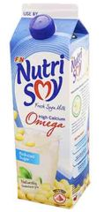 Nutrisoy Omega Reduced Sugar 1L