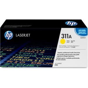 HP 311A YELLOW LASERJET TONER CARTRIDGE Q2682A