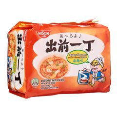 Nissin Chu Qian Yi Ding Spicy Sesame Instant Noodles With Soup Base 5 x 86g