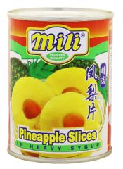Mili Pineapple Slices 565G