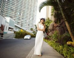 New Beach High Quality Trendy Design Sleeveless White Backless Women Maxi Dress