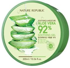 Nature Republic Smoothing & Moisture Aloe Vera 92% Soothing Gel 300ml