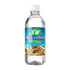 S&W Distilled White Vinegar 473 ml