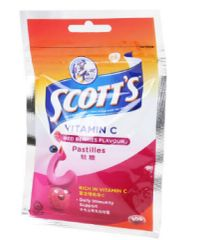 Scott's Vit.C Pastilles Mix Berries 30G