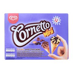 Cornetto Mini Cookies And Chocolate Ice Cream 28 ml
