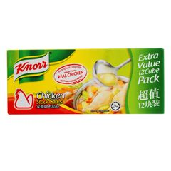 Knorr Chicken Stock Cubes (X12) 120 g