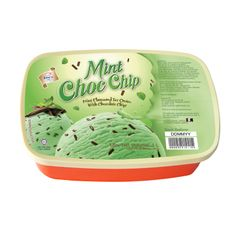 King's Mint Flavoured Ice Cream With Chocolate Chip 1 L