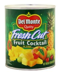 Delmonte F/Cut Fruit Cocktail 825G