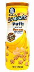 Gerber Graduates Puffs Banana 42G