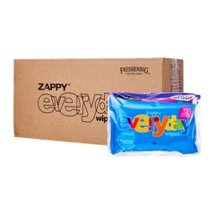 Zappy Everyday Wipes Value Pack (Carton) 36 x 15 per pack