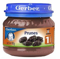 Gerber Stage 1 Prunes 80G