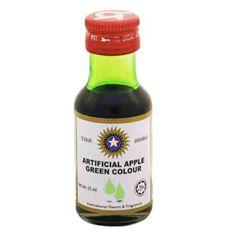 Star Colour Apple Green 25ml