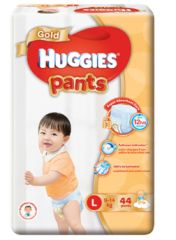 Huggies Gold Pants L 44S