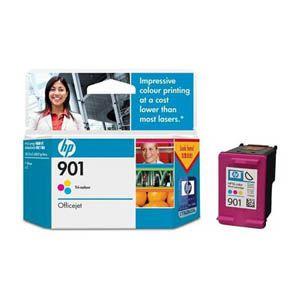 HP 901 TRI-COLOR INK CARTRIDGE CC656AA