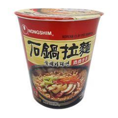 Nongshim Korean Clay Pot Ramyun Cup 70g