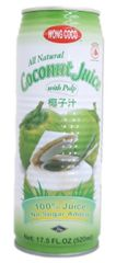 Wong Coco Young Coconut Juice 520ml
