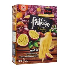 Mingo Fruttega Multi Pack Passion Fruit Sorbet - Frozen 5 x 65 g