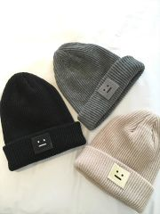 Korean Smile Winter Knitted Caps