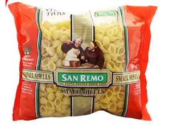 San Remo Pasta Small Shell (No 28) 500G
