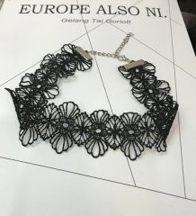 Popular Series Black Lace Necklace