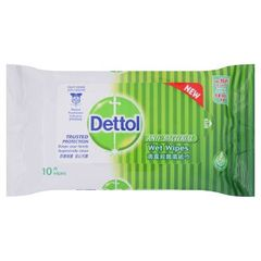 Dettol Original Wet Wipes 10 Sheets