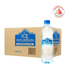 Ice Mountain Pure Drinking Water - Case 24 x 600 ml