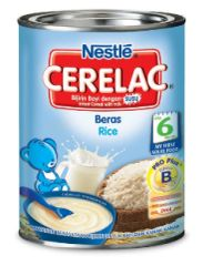 Nestle Cerelac Rice+Milk 350G
