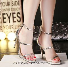 European Zip Fashion Bandage Pumps