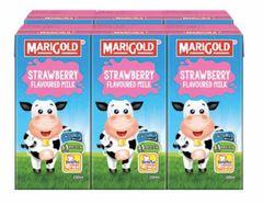 M'gold UHT Strawberry Milk 6X200ml