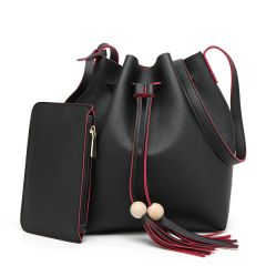 New Fashion Contrast Color Bucket Bags