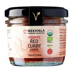 Organic (All-Natural) Thai Red Curry Paste 100 g