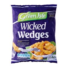 Green Isle Wicked Potato Wedges - Frozen 750 g