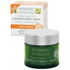 ANDALOU NATURALS Purple Carrot Luminous Night Cream 50ml