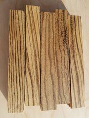Zebrawood Pen Blanks
