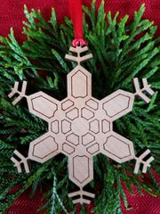 Snowflake ornament Type 1