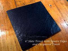 """6"""" Slate Trivet"""