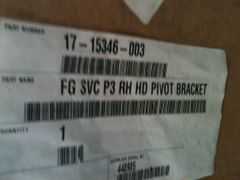Paccar HD Hood Bracket RH 17-15346-003