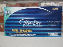Latex Gloves - Small