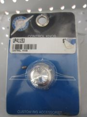 United Pacific Clear Stone Dial Knob UP41153