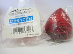 "Maxxima M09105R Red 2"" Beehive Clearance Marker Light"