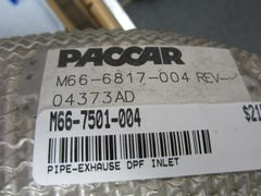 PACCAR Exhaust Pipe M66-6817-004/M66-7501-004