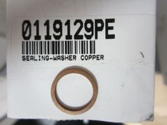 Copper Sealing Washer 0119129PE