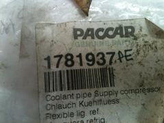 Paccar Coolant Pipe 1781937/1781937PE