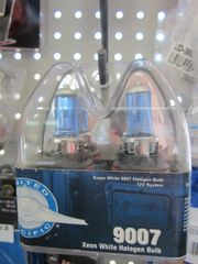 United Pacific 39131 12V 100/80 Watt Headlight Bulb (9007 pair)