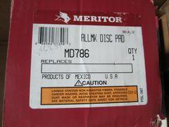 Meritor MD786 Lining-Axle Set/Disc Pad