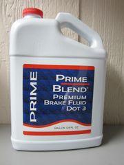 Premium Brake Fluid - Gallon (DOT3)