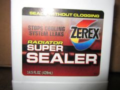 Zerex Radiator Super Sealer - 14.5 ounce bottle