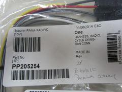 Pana Pacific 2Y Peterbilt Premium Sound Radio Harness PP205254
