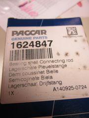 Paccar Bearing Shell 1624847/1624847PE