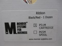 Monroe Systems for Business P51M black/red cartridge printer ribbons